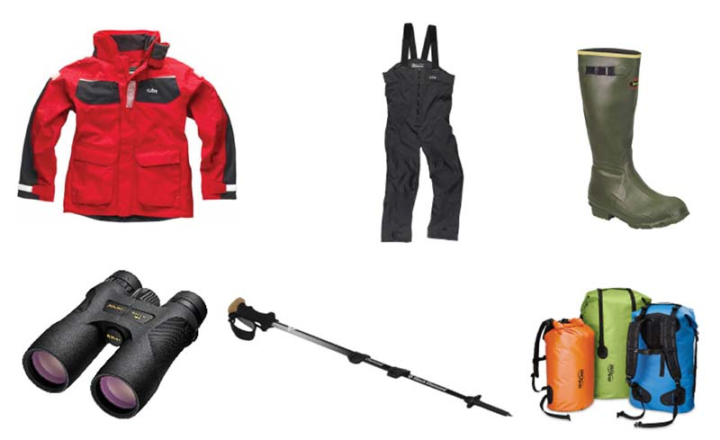 Expedition Clothing Gear package included